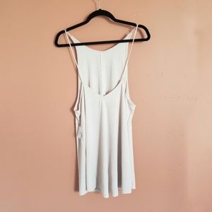 Pink Rose Ribbed Tunic Tank Urban Outfitters NWT